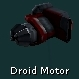 Droid Motor (Red)